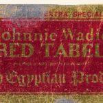 Johnny Wadie Red Tabel
