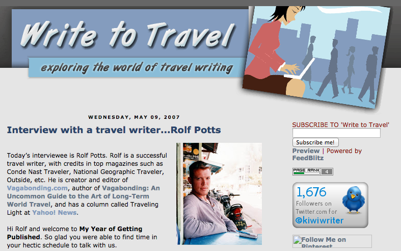 6 Answers About Life As a Professional Travel Writer – Rolf Potts